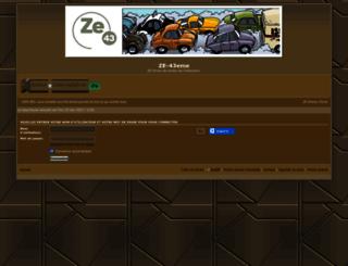 ze-43eme.com screenshot