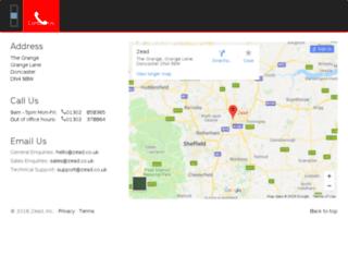 zead.co.uk screenshot