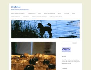 zebbakes.wordpress.com screenshot