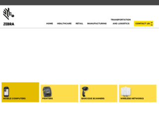 zebraapac.com screenshot