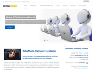 zebramedia.es screenshot