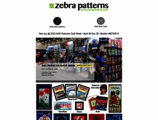 zebrapatterns.com screenshot