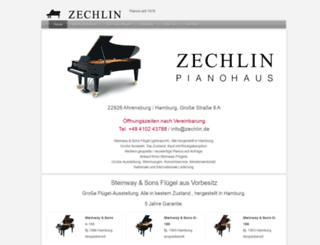 zechlin.de screenshot