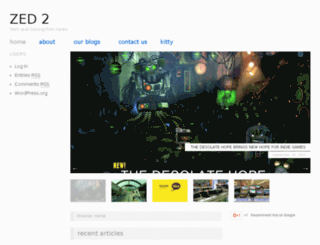 zed2.com screenshot