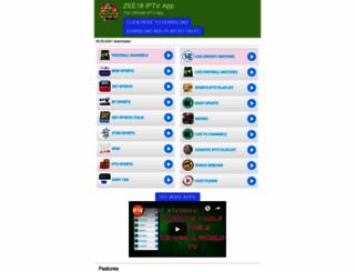 zee18.com screenshot