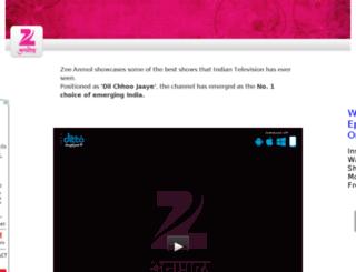zeeanmol.tv screenshot