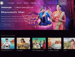 zeebangla.com screenshot