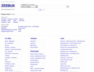 zeebukpakistan.com screenshot