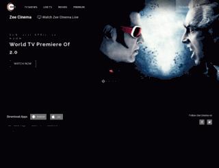 zeecinema.com screenshot