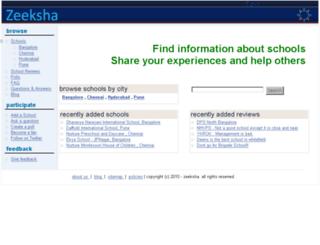 zeeksha.com screenshot
