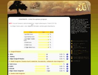 zekathesaplama.bfc-soft.com screenshot