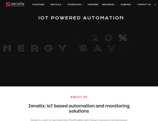 zenatix.com screenshot