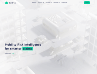 zendrive.com screenshot