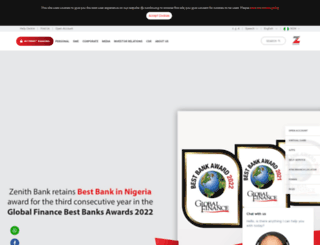 zenithbank.com screenshot