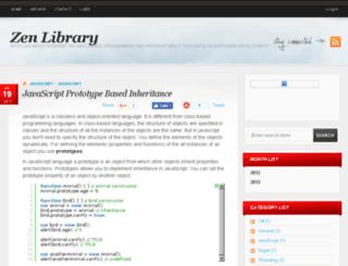 zenlib.com screenshot