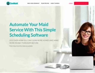 zenmaid.com screenshot