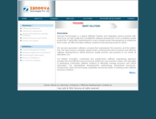 zenoova.com screenshot