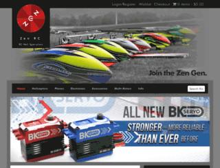 zenrc.com.au screenshot