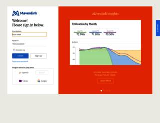zense.mavenlink.com screenshot