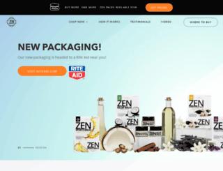 zensportsbalm.com screenshot