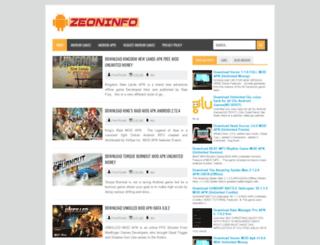 zeoninfo.blogspot.com screenshot