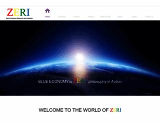 zeri.org screenshot