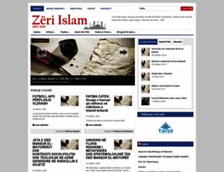 zeriislam.com screenshot