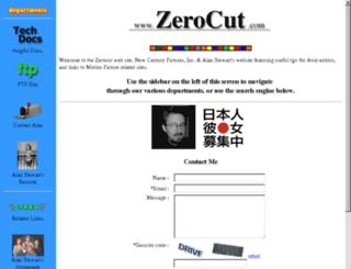 zerocut.com screenshot