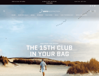 zerorestriction.com screenshot