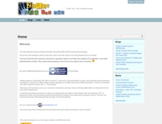 zerosandtheone.com screenshot