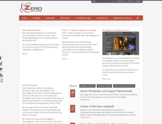 zerosoftware.de screenshot