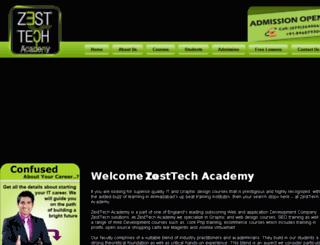 zesttechacademy.com screenshot
