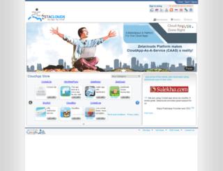 zetaclouds.com screenshot