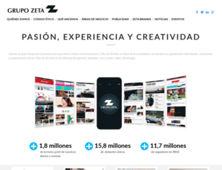 zetagestion.com screenshot