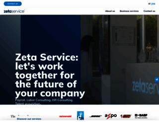 zetaservice.com screenshot