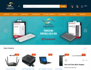 zettabyte-gadgets.com screenshot