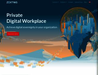 zextras.com screenshot
