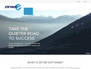zeyarsoftware.com.au screenshot