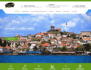 zeytin-emlak.net screenshot