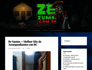 zezumbi.com.br screenshot
