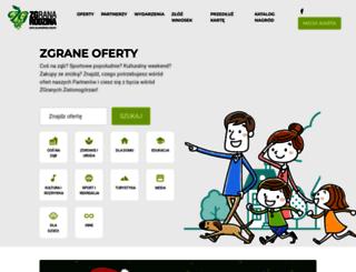 zgranarodzina.pl screenshot