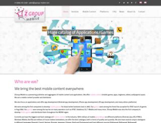 zgroup-mobile.com screenshot