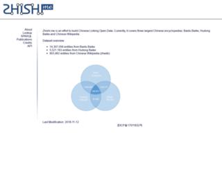 zhishi.me screenshot