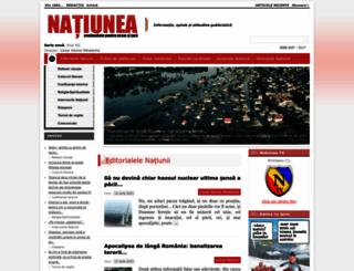 ziarulnatiunea.ro screenshot