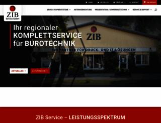 zib-service.de screenshot