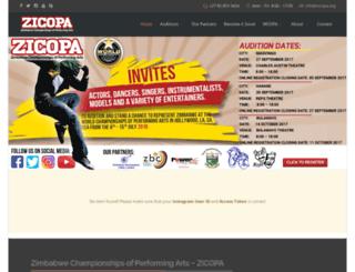 zicopa.org screenshot