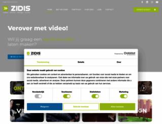 zidis.be screenshot