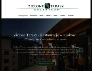 zielone-tarasy.eu screenshot