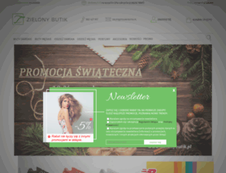zielonybutik.pl screenshot