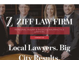 zifflaw.com screenshot